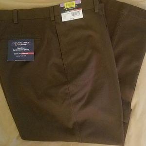 Roundtree & Yorke Brown Dress Pants